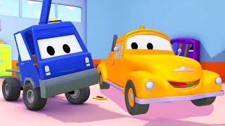 Xe tải kéo cho trẻ em - Xe thu hoạch quả anh đào Chuck - Thành phố xe 🚗 những bộ phim hoạt hình về