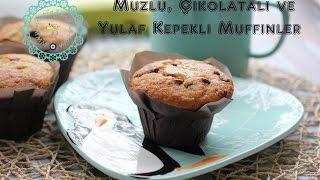 ikolatal Muzlu ve Yulaf Kepekli Muffinler