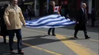 GREEK NATIONAL DAY,PARADE IN TORONTO 2013