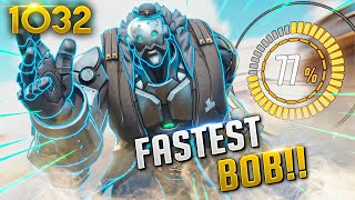 The *FASTEST* BOB IN THE WORLD!? | Overwatch Daily Moments Ep.1032 (Funny and Random Moments)