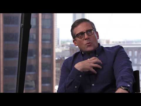 "The Big Short: Steve Carell ""Mark Baum"" Behind The Scenes Movie Interview"