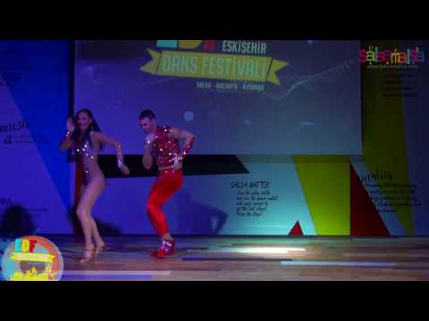 Melisa Sahra Katılmış & Cem Demir Salsa Show | EDF 2017
