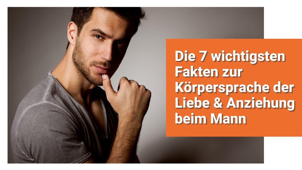 ... Fakten zur Körpersprache der Liebe & Anziehung beim Mann - ViYoutube