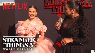 Millie Bobby Brown | Stranger Things 3 Premiere | Netflix