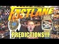 WWE FASTLANE PPV Predictions! Full Card Match Preview! February 21, 2016