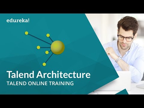 Talend Architecture | Talend for Data Integration and Big Data | Talend Online Training | Edureka