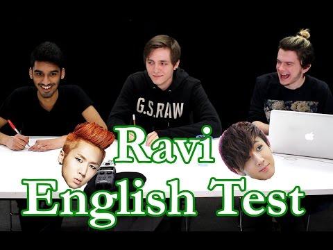 Kpop English Test - Ravi Edition! video