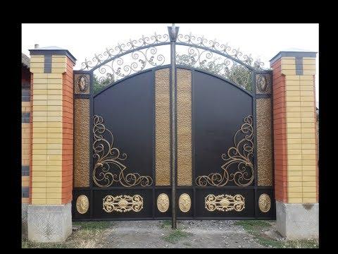 Ворота , своими руками . Кавказ