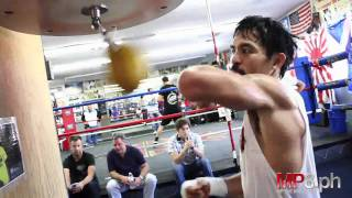 Manny Pacquiao - HARD HITTING SPEED BAG