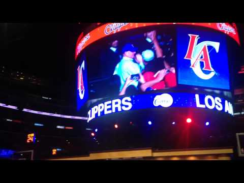 New LA Clippers Owner Steve Ballmer's Debut Entrance & Speech at Clippers Fan Festival