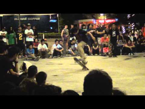 Skateboarding Competition in Davao City