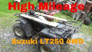 Suzuki QuadRunner 250 4WD, $325 ATV from Andrew Camarata!