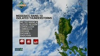 24 Oras Weather update as of 545 p.m. June 17, 2018