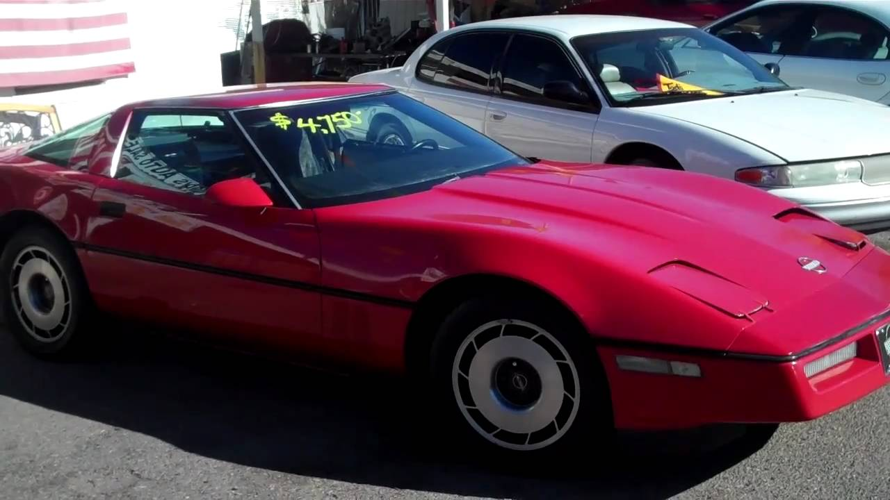 1983 Chevy Corvette - just arrived - priced to sell - YouTube