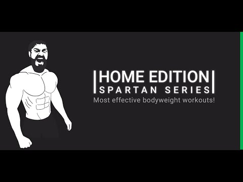Spartan Body Weight Home Workouts Free APK Cover