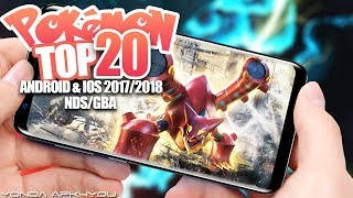 Top 20 New Pokemon Games NDS/GBA - Android IOS Gameplay