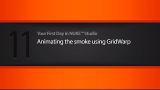 Animating smoke using GridWarp in NUKE STUDIO tutorial