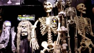 A look inside Spirit Halloween (October 2014)