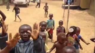 Sierra Leone Children Dance Me Out of Their Village