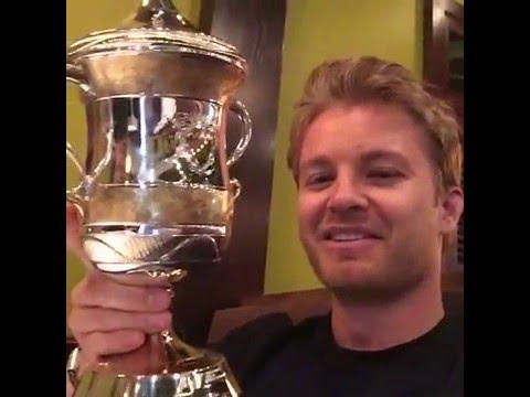 Nico Rosberg: Live Video P1 Bahrain GP