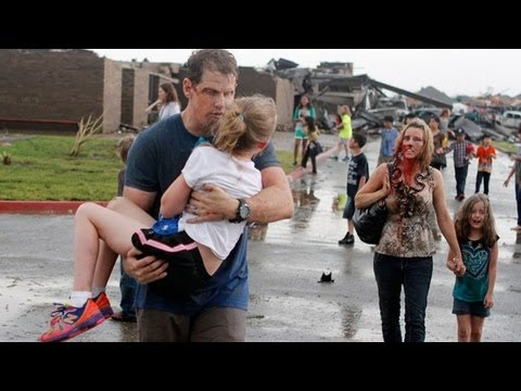 Oklahoma Tornado: Elementary School Moments After Tornado Struck