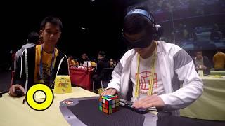 Rubik's Cube Blind Method: 9.48 seconds - WCA World Championship 2019