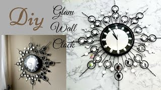 Diy Decorative Wall Clock!| Wall Decorating idea!