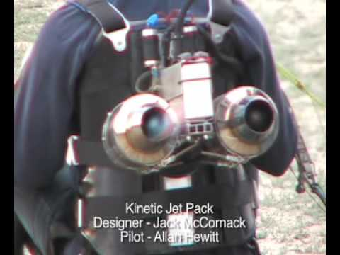 Kinetic Jet Pack