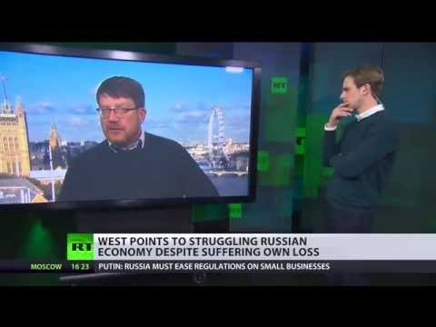 Oil prices falling, who suffers? - Tony Gosling on West economic warfare vs Russia