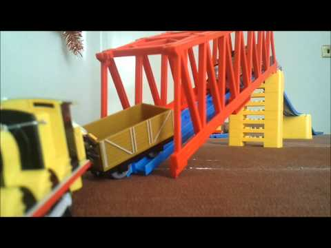 Accidents happen to Thomas and his friends Music by Kevin McLeod (incomputech.com)