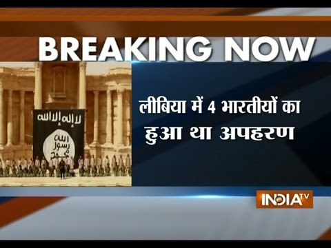Two of Four Kidnapped Indians Released in Libya by ISIS - India TV