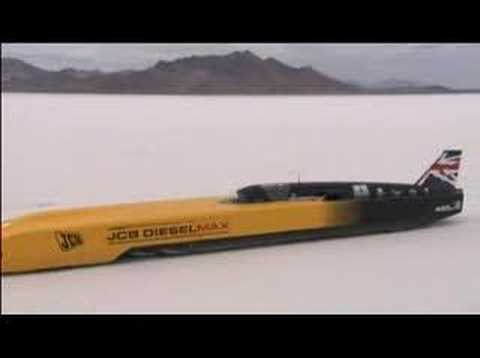 Diesel World Land Speed Record Breaker