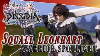 Squall Leonhart Warrior Spotlight - Dissidia Final Fantasy NT (DFFAC/DFFNT)