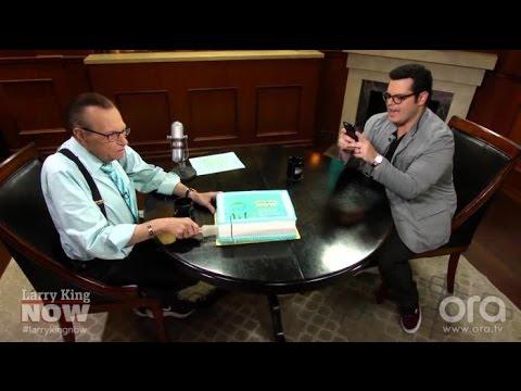 Larry King, Josh Gad Celebrate 500th Episode of Larry King Now | Larry King Now | Ora.TV