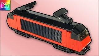 Lego Mini SWISS LOCOMOTIVE Electric Train Cars for Kids Speed Build Review
