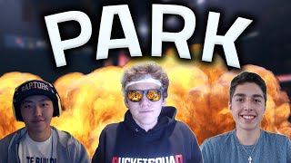 NBA 2K16 Park - OUR FIRST PARK GAMES!!