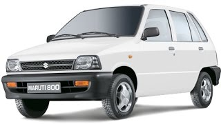 10 UNBELIEVABLE FACTS ABOUT MARUTI 800.
