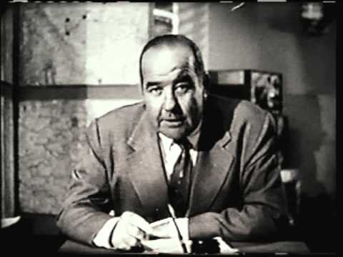 Highway Patrol Television Show - Beginning and End - Broderick Crawford