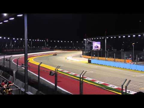 Formula 1 Singapore Grand Prix 2012 - Practice 2 (Turn 23)