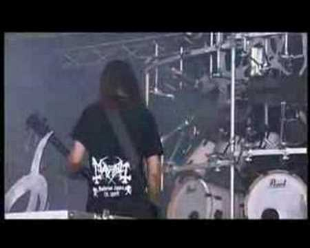 Mayhem - Freezing Moon (at Wacken 04)