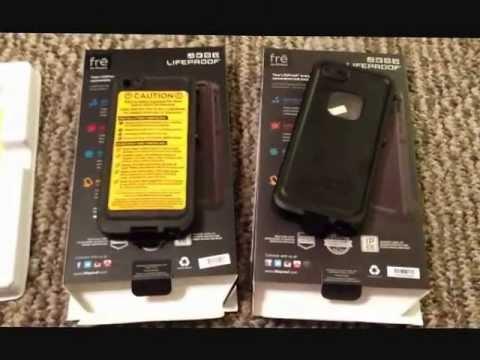 Iphone 5 lifeproof case real vs fake youtube