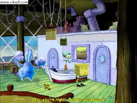 spongebob the movie pc game chapter 3 hit the road 12