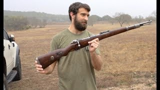 Shooting The Mauser Kar98k