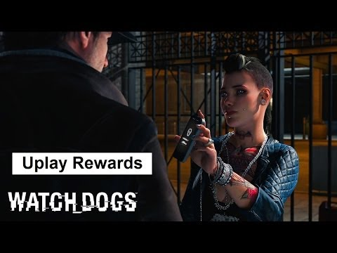 Watch Dogs Uplay rewards: Gold D50. Papavero. Aiden Pearce avatar. Online contract cash boost