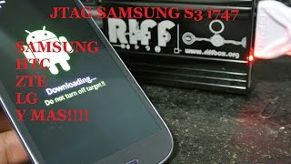 Galaxy S3 i747 Hard Bricked Servico JTAG  RIFFBOX