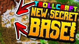 Minecraft: MY NEW *SECRET* BASE!! - Troll Craft