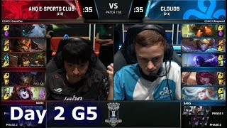 ahq e-Sports Club vs Cloud 9 | Day 2 Main Group Stage S7 LoL Worlds 2017 | AHQ vs C9 G1
