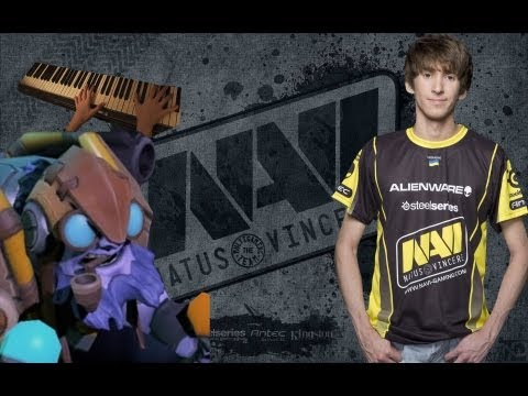 NAVI Dendi All pro Tinker game at The Defense