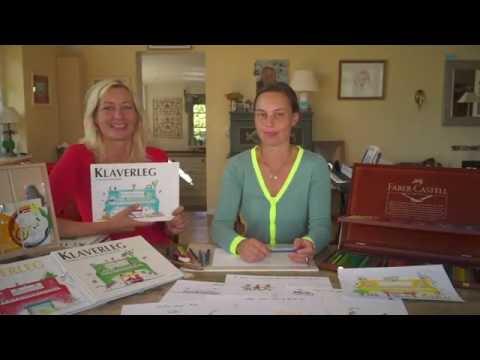 Lær At Spille Klaver: Klaverleg Besøger Illustrator-Sandra