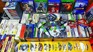 How Many Games I Have Found Gamestop Dumpster Diving In The Past 2 Months!